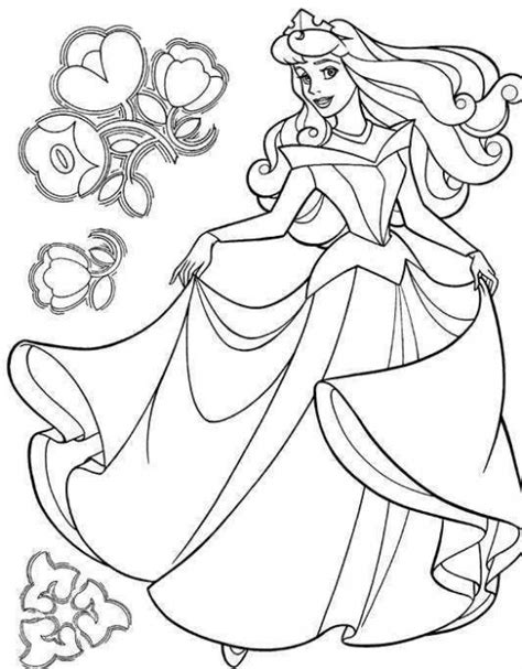 Aurora Princess Disney Characters Coloring Pages Free Coloring Pages Of Disney Characters