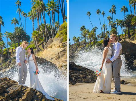 wedding in laguna ca heisler park laguna wedding monika and derek