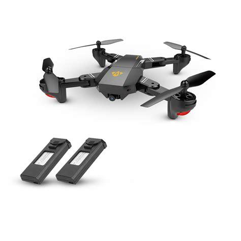 Murah Ori Drone Visuo Xs809hw 3 Battery Wifi Fpv 2mp 3 visuo xs809hw wifi fpv 0 3mp foldable selfie drone height hold rc quadcopter g sensor