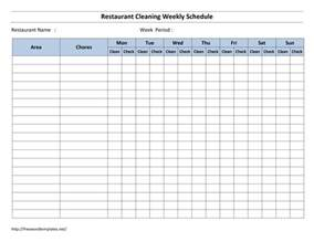 Cleaning Template by Meeting Room Schedule Template Free Microsoft Word Templates