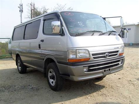 Toyota Hiace For Sale 2004 Toyota Hiace Pictures 3000cc Diesel Automatic For