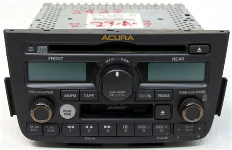 acura mdx 2003 2004 factory stereo bose 6 disc