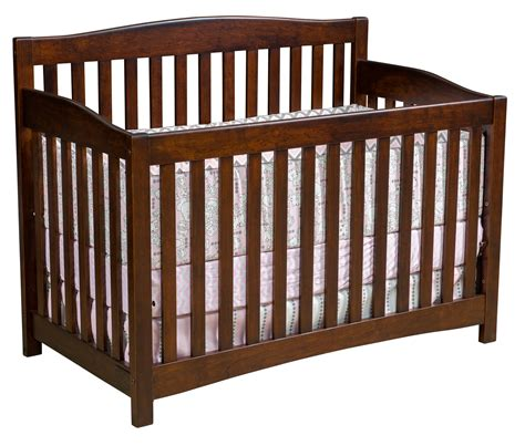 Non Convertible Cribs 73 Amish Furniture Baby Cribs Prestige Hardwood Cribs Size Of Furnitureamish