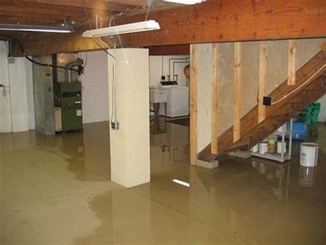basement flooding general contractor home improvement