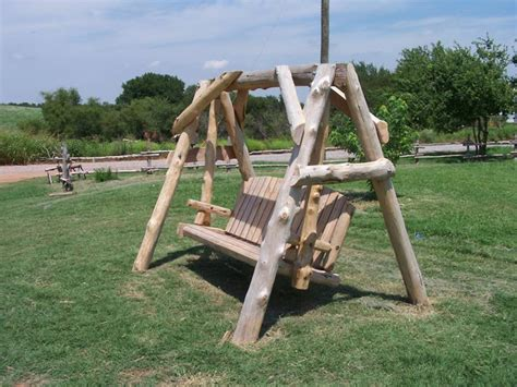log swing set plans mammoth cedar log yard swing