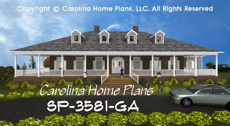 large southern plantation style house plan sp 3581 sq ft