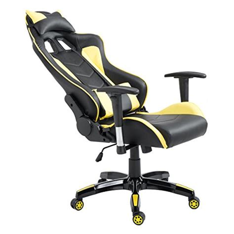 Reclining Gaming Chair Giantex High Back Executive Racing Reclining Gaming Chair