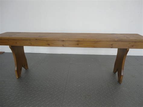 chapel bench antiques pine school chapel bench antiques atlas