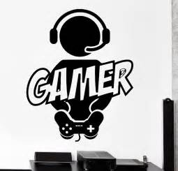 Video Game Wall Stickers gamer wandtattoos werbeaktion shop f 252 r werbeaktion gamer wandtattoos