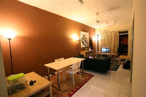 hiasan ruang tamu rumah flat kecil desain rumah hiasan dalaman blog siputhijau
