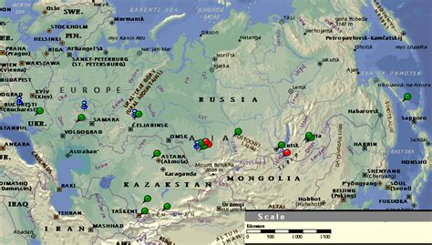 novosibirsk map map russia