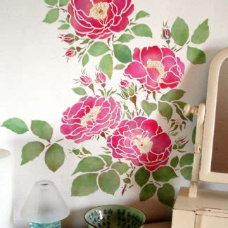 Rose Theme Pack | china rose theme pack stencil henny donovan motif