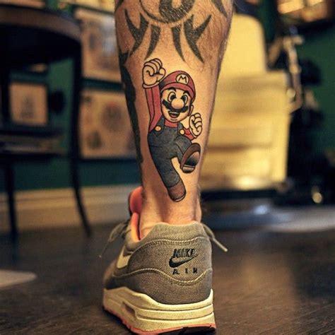 Mario Tattoo You Instagram | best 20 mario tattoo ideas on pinterest nintendo tattoo