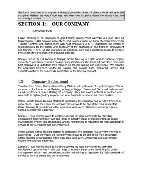 staff establishment template employee manual template templates resume