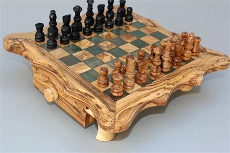 ordinary Cutting Board With Containers #2: Olive_Wood_Chess_set_-_Black_Square_-_Medium_Size_03_1024x1024.jpg?v=1445153002
