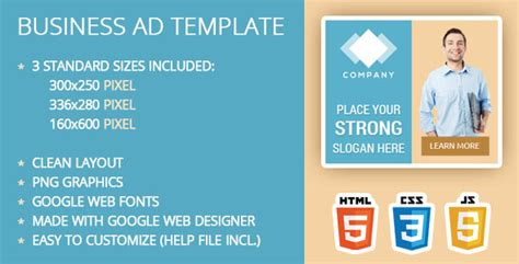Business Ad Template By Ilove2design Codecanyon Business For Sale Ad Template