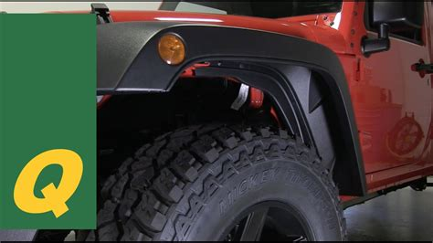 Jeep Oem Fender Flares Mopar High Top Fender Flares For Jeep Wrangler Jk And Jku