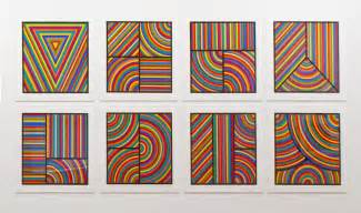 color bands sol lewitt