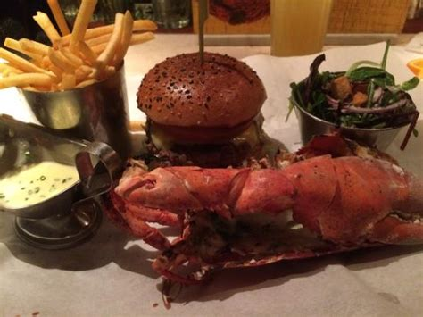 Covent Garden Lobster by The Burger And Lobster Combo Picture Of Burger Lobster