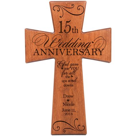wedding anniversary gift for years wedding anniversary gifts by year 15 lading for