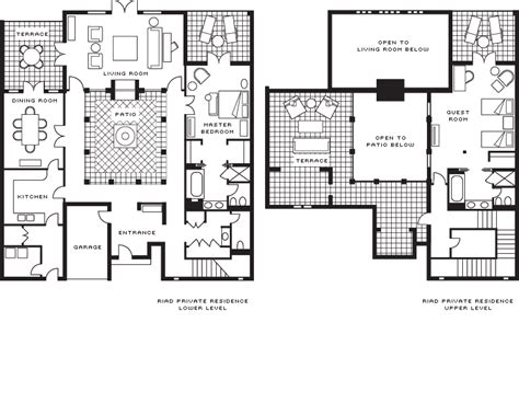 moroccan riad floor plan presidential suite floor plans layouts pinterest