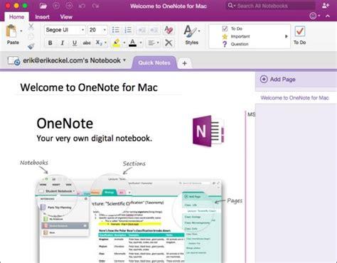 templates for onenote mac onenote 2016 for mac deserves wider adoption techrepublic