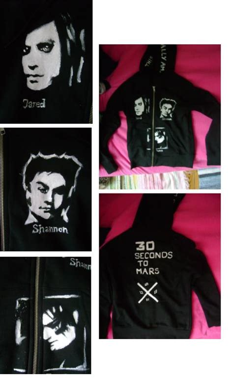 Hoodie Secont To Mars Jidnie Clothing 30 seconds to mars hoodie by stockholmfairy on deviantart