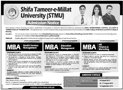 Mba In Healthcare Management In Karachi by Masters Admission Education
