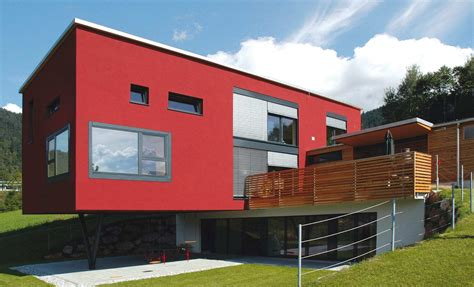 fassade rot einfamilienh 228 user trocal