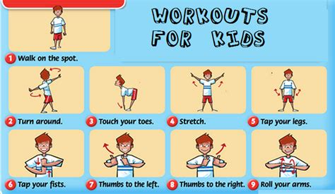 interactive exercises for learning workouts for