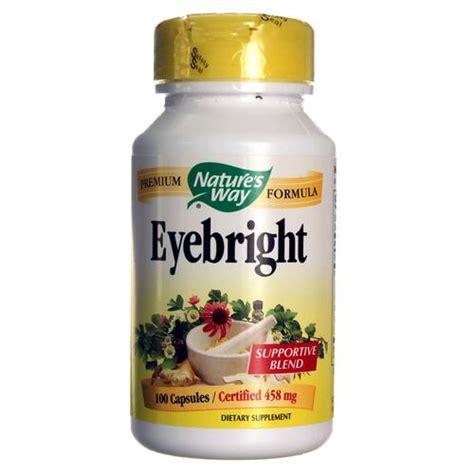 Vitamin Eye Bright Nature S Way Eyebright 458 Mg 100 Capsules Evitamins