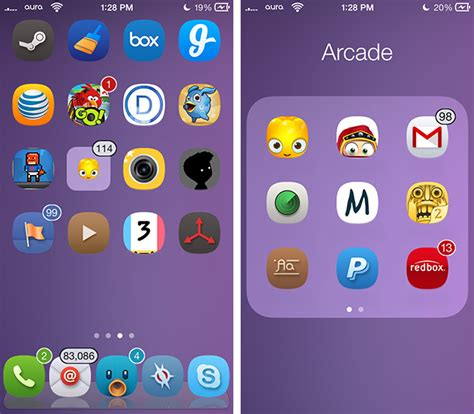 android tweaks customize home screen with these notification badges ios 7 jb tweaks