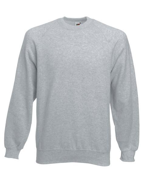 Sleeve Plain Sweater fruit of the loom classic raglan sleeve sweatshirt