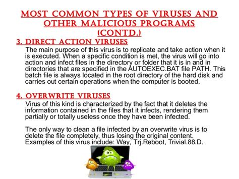 7 types of computer viruses technically easy