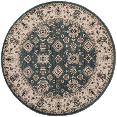 7 X 7 Area Rugs Safavieh Lyndhurst Teal 7 Ft X 7 Ft Area Rug Lnh332t 7r The Home Depot
