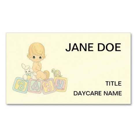 business card template childcare 239 best childcare business cards images on
