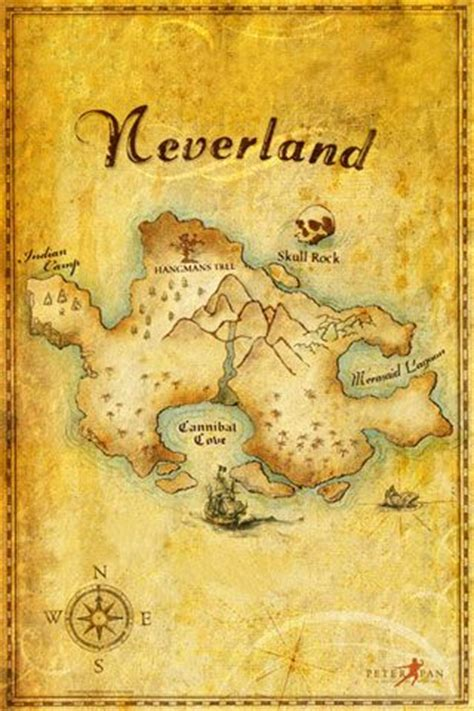 neverland map boys and will on