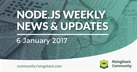 node js microservices tutorial jsfeeds node js weekly update 6 jan 2017