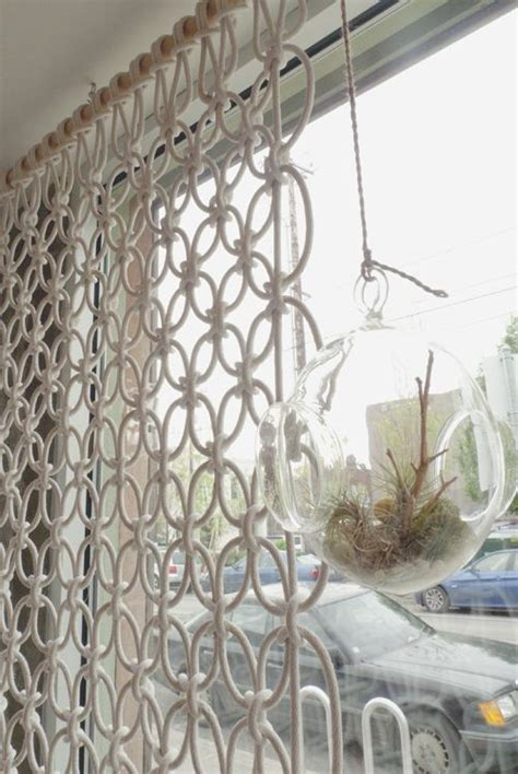Macrame Room Divider Macrame Room Divider By Sally Ideas For Projects Pinterest