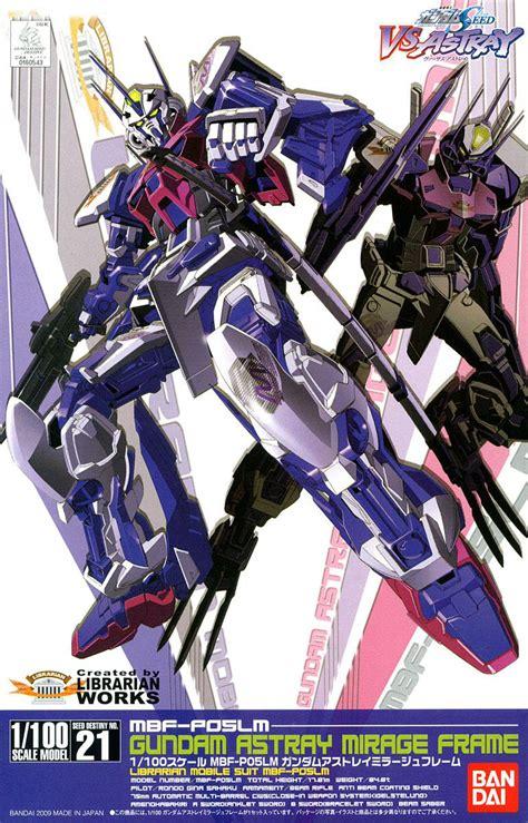 Gundam Seed Cutting Sticker 1 gundam astray mirage frame ng 1 100