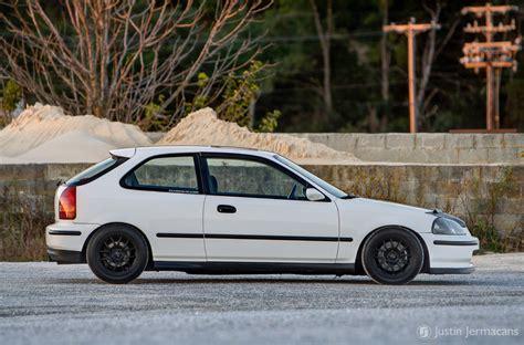 honda ek white white ek civic automotive photography justin