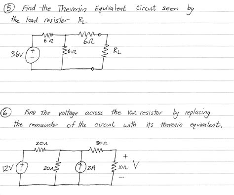 thevenin equivalent circuit of induction motor 5 find the thevenin equivalent circuit seen by th chegg