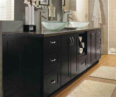 schrock bathroom cabinets contemporary black bathroom cabinets schrock