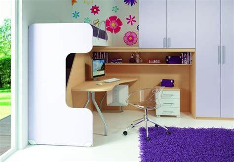 scrivania con libreria per cameretta scrivania cameretta funzionale e colorata camerette moderne