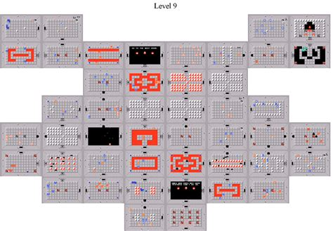 legend of zelda map dungeon 9 the legend of zelda world dungeon maps