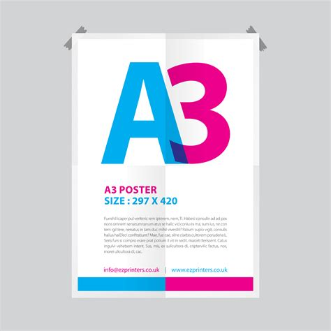 design poster a3 a3 poster printing ez printers