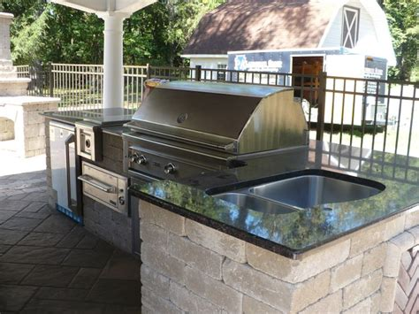 outdoor grill with sink grill sink outdoor kitchen outdoor living