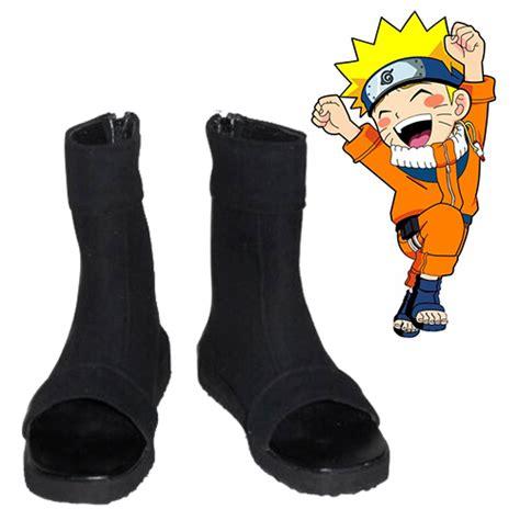 naruto uzumaki naruto uchiha sasuke cosplay shoes anime
