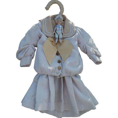 bisque doll dress antique sailor dress bisque sailor doll from
