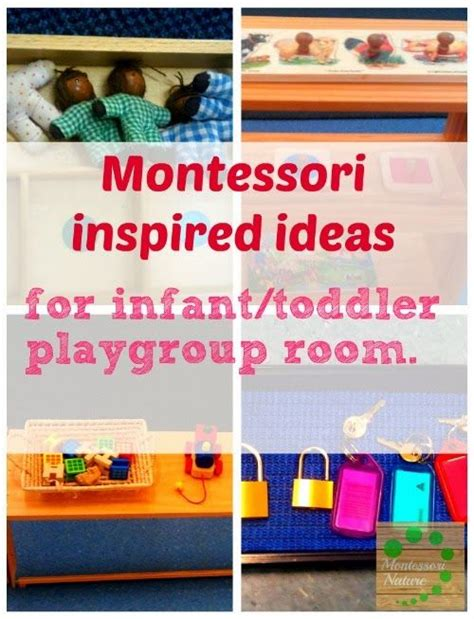 montessori baby montessori and baby toddler on pinterest montessori inspired ideas for infant toddler playgroup